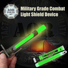 "AOR POWER Best Emergency - Disaster- Military Glow Light Stick Combination Cyalume and (1) 6"" Light Shield Device ChemLight and (3) 6"" SnapLight Lightsticks (Green) AOR POWER http://www.amazon.com/dp/B013YZGOWK/ref=cm_sw_r_pi_dp_8Nsiwb1EVJ7MS"