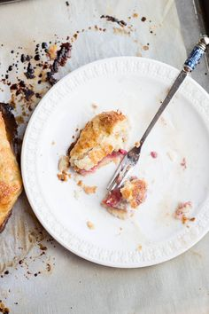 Yema de huevo corteza de la empanada + balsámico de fresa y frambuesa Galette-15