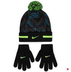 Nike Boys  2-Piece Pom-Pom Hat   Gloves Set Kids - All Kids  Accessories -  Macy s afb5ed754de2