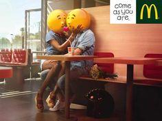 """Come as you are""   Agence : BETC, Paris, France, pour McDonald's (2015)"