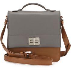 ae1e0398c25e4 Prada Half-Flap Small Turn-Lock Crossbody Bag ( 1