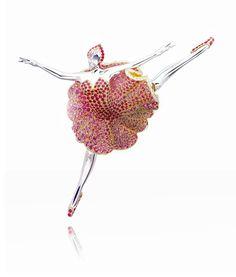 Van Cleef & Arpels - Ballerina Mélisandre clip, Une Journée à Paris collection, 2006