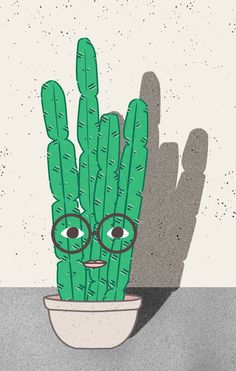 """""""Emily"""" Plant Face by Lauren Webster Websterandsons.com"""