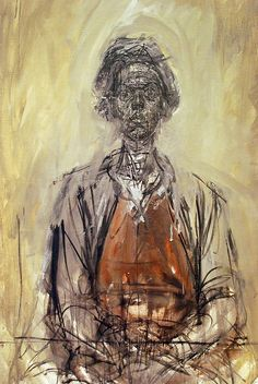 Giacometti painting of Annette