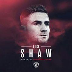 Luke Shaw welcome to ManU.
