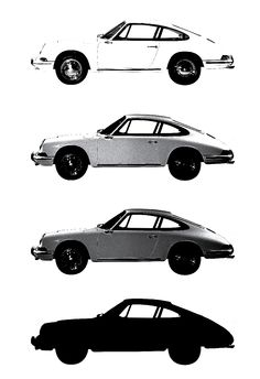 Working on a new classic 1964 Porsche 911 screenprint. Here are some early stage colour separations #911 #Porsche #limited #edition #prints #vintage #cars | www.freireprintz.co.uk