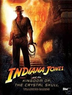 Set of 90 Indiana Jones and the Kingdom of the Crystal Skull @ niftywarehouse.com #NiftyWarehouse #IndianaJones #GeorgeLucas #HarrisonFord #Movies