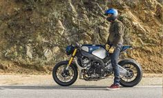 BMW S1000 R Cafe Racer Orlando Bloom #motorcycles #scrambler #motos | caferacerpasion.com