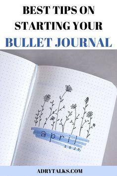 Starting your bullet journal can be very daunting and confusing! Here are 10 essential tips to help you start your bullet journal today. Bullet Journal First Page, Bullet Journal For Beginners, Bullet Journal How To Start A, Bullet Journal Contents, Bullet Journal Ideas Pages, Bullet Journal Inspo, Bullet Journal Layout, Book Journal, How To Journal