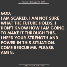 21 prayers for fear are a great compilation of prayers to help conquer fear by depending on God. These are prayers for strength and power to face whatever is holding you a prisoner. Prayer Scriptures, Bible Prayers, Faith Prayer, God Prayer, Power Of Prayer, Faith In God, Bible Verses, Bible Quotes, Quotes Quotes