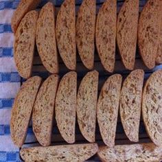 Bake with anna olson recipes classic cranberry almond biscotti almond biscotti no marg added one egg to double recipe also added craisins forumfinder Gallery