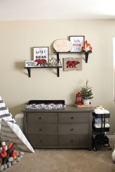 It's time to prepare the best nursery for your prospective baby! If she is a girl, these cute baby girl room ideas might help you decorate it. Baby Bedroom, Baby Boy Rooms, Baby Boy Nurseries, Nursery Room, Kids Bedroom, Toddler Boy Bedrooms, Modern Nurseries, Bedroom Ideas, Bedroom Decor