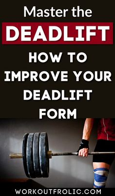 The deadlift is one of the most efficient and beneficial exercises for women. The deadlift is a compound exercise that works your whole body, builds your strength and stamina. #deadlift #exercise #womenfitness Muscle Building Tips, Build Muscle, Strength Workout, Strength Training, Fit Board Workouts, Fun Workouts, Group Fitness, Fitness Tips, Deadlift Variations