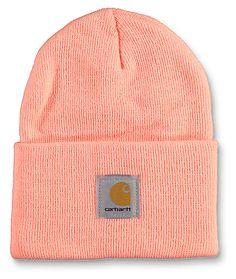160865b14e6 Carhartt Watch Fresh Peach Beanie