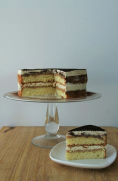 Baileys Tiramisu Naked Cake (for Mother's Day)