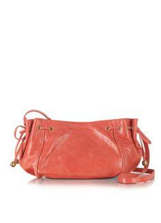 6bb4332b1026 Gerard Darel Mini 24 Heures Leather Crossbody Bag  325.00 Actual  transaction amount