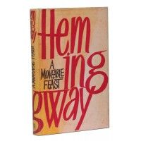 Ernest Hemingway - A Moveable Feast - Jonathan Cape UK 1964 - First Edition