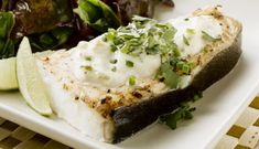 Alaska Halibut with a Green Chile Blanket | Wild Alaska Seafood