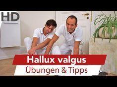 (24) Hallux valgus // Übungen und Tipps zur Selbsthilfe - YouTube