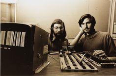 Steve Wozniak & Steve Jobs = Apple 1