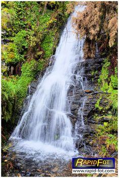 Cascada en Ferreira, Los Oscos, Asturias.