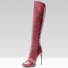Shoespie High Quality Knee High Boots