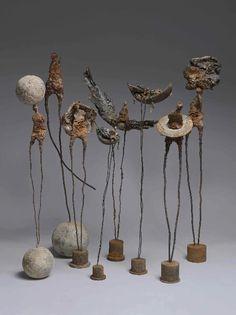 Marc Perrez -né en 1955 France- peintre et sculpteur