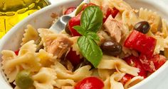 Tuna and pasta salad - LekhaFoods