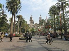 Plaza de Armas: A walk around the Plaza - Santiago
