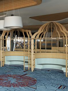 The Bistro's Bird Cages We can't wait to see enjoy a delicious meal in these!