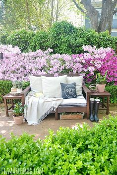 Lovely spring patio!