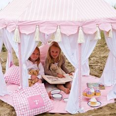 Rosey Pink Play Pavilion from PoshTots