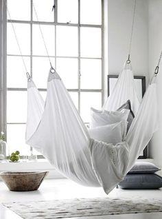 <3 15 inspirerande sätt att inreda med hängmatta och hängstol inomhus i höst - Metro Mode Home
