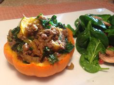 Stuffed Miniature Pumpkins and the Evolution of Cooking - Ignite. Nourish. Thrive.