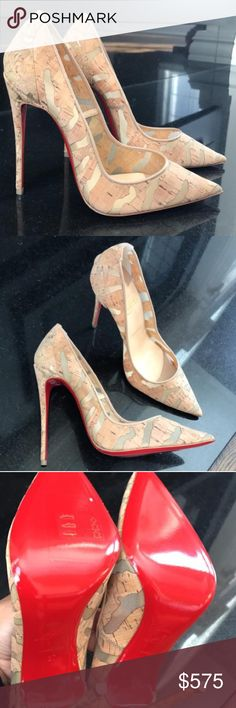 Christian Louboutin pump New! Authentic! Christian Louboutin! Box and dust bag included. Accepting offers. Christian Louboutin Shoes Heels