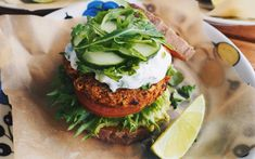 <p>This burger is light, healthy, and super flavorful.</p>