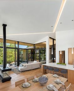 Kengo Kuma's first U.S. home is an indoor-outdoor masterpiece - Curbedclockmenumore-arrow : The Suteki home was built as part of a residential showcase in Happy Valley, Oregon