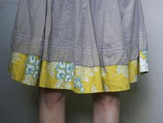 lengthened skirt