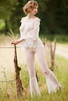 Beauties Legs - denier69: Fashionable French Country Girl