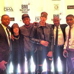 Machine gun Kelly at the BMI awards 2013