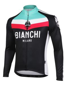 Bianchi Kando Long Sleeve Cycling Jersey 7772e1448