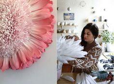Гигантские бумажные цветы от Тиффани Тернер(Tiffanie Turner)