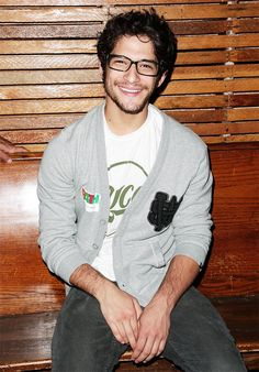 Tyler Posey - his smile makes me so freaking happy, I can't.