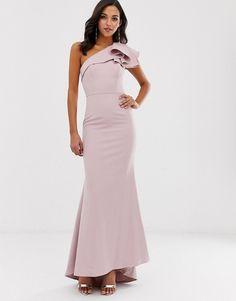 Jarlo Women/'s Grey Wedding Cocktail Layered Ruffle Maxi Long Dress UK SIZE 8,12