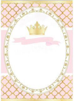 I invite you to my birthday Princess Birthday Invitations, Disney Princess Birthday, Girl Birthday, Invitation Background, Baby Shower Princess, Invite, Baby Showers, Invitation Birthday, Pink And Gold Invitations