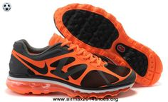size 40 1ebaa 412da Buy Nike Air Max 2012 487982-008 Mens Black Orange Cheap For Sale Cheap Nike