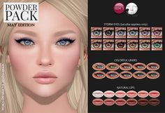 Powder Pack LeLutka May Edition released | by Izzie Button (Izzie's)