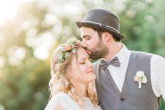 Hochzeitsfotografie — Hals über Kopf Boho Stil, Wedding Photography, Newlyweds, Wedding Dress