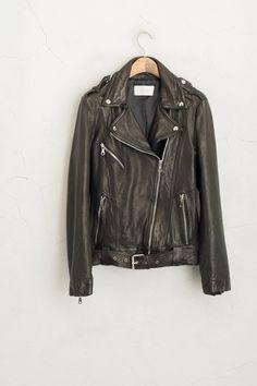 Olive - Calf Leather Biker Jacket, Black, £289.00 (http://www.oliveclothing.com/p-oliveunique-20160120-012-black-calf-leather-biker-jacket-black)