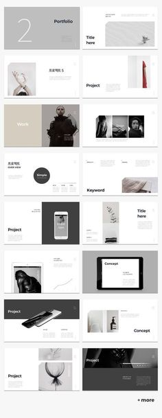 Simple & Minimal Presentation Template - - -Cool Simple & Minimal Presentation Template - - - Simple & Minimal template for PowerPoint, Keynote✨ MURO - PowerPoint Template, 2018 Best business PowerPoint templates Portfolio Design Layouts, Layout Design, Design Jobs, Graphisches Design, Book Design, Template Portfolio, Product Design Portfolio, Online Portfolio Design, Web Layout